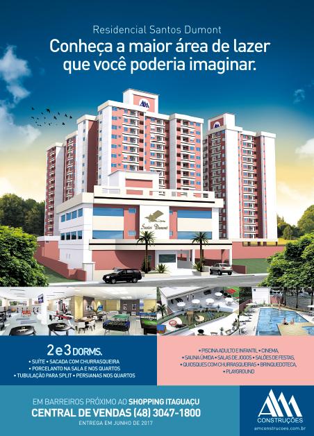 Anúncio Santos Dumont